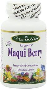 Paradise Herbs Maqui Berry Super Vegetarian Supplement
