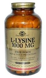 Solgar L-Lysine 1000 mg - 250 Tablets