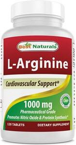 (New Improved Formula) Best Naturals L-Arginine 1000 mg