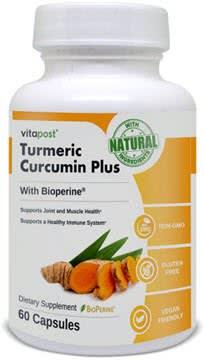 VitaPost Turmeric Curcumin Plus