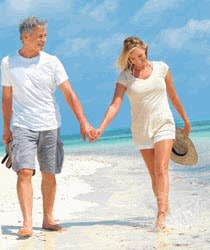 Walk to slow ageing