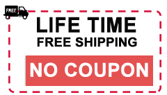 Life Time Free Shipping Coupon