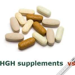 Natural HGH supplements vs HGH injections