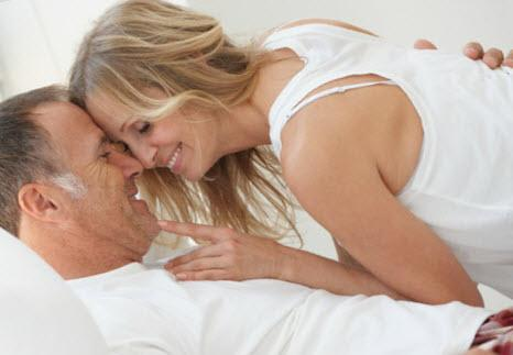 Sexy Mature Couple in Their Bed