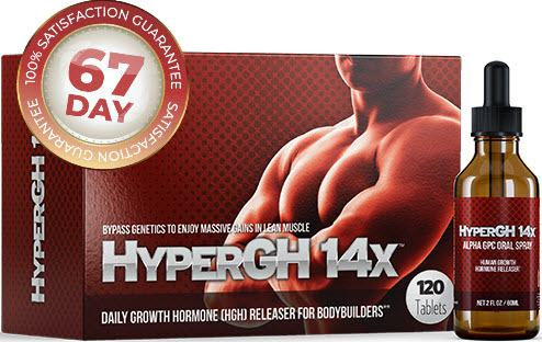 HyperGH 14X Daily Growth Hormone (HGH) Releaser For Bodybuilders