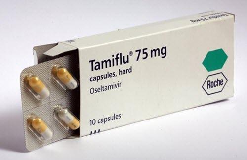 Tamiflu (oseltamivir phophate) Antiviral Drug