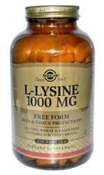 Solgar L-Lysine 1000 mg - 250 Tablets
