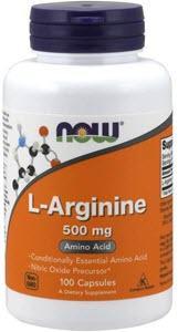 NOW Supplements, L-Arginine 500 mg