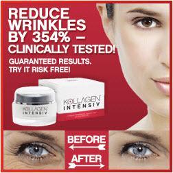 Kollagen Intensiv reduces wrinkles by 354%