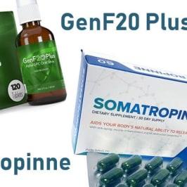 HGH Releasers - GenF20 Plus vs Somatropinne