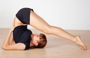 Yoga Plow Pose - Halasana