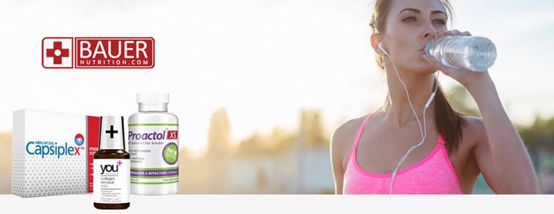Bauer Nutrition Premium Supplement Products