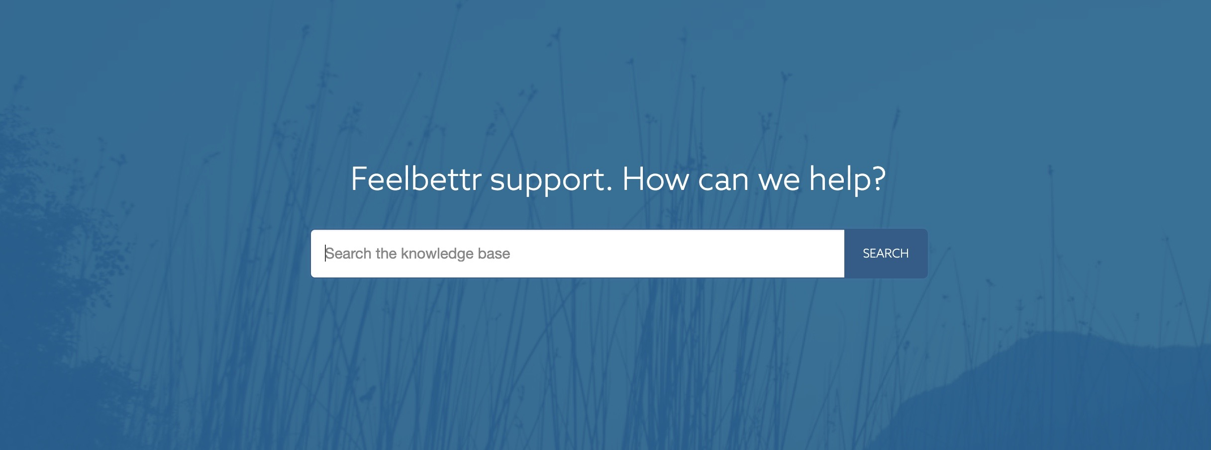 The Feelbettr documentation is taking shape