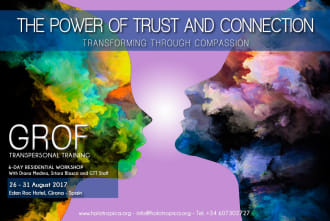 The Power Of Trust And Connection. 26th-31st August, 2017. Spain