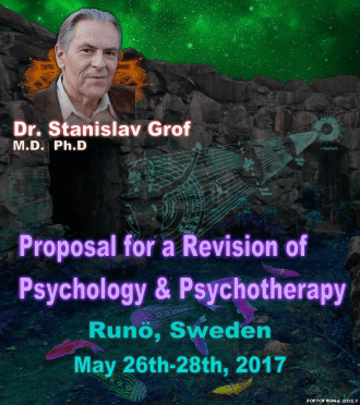 Lecture and Holotropic Breathwork workshop with Stan Grof at Runö, Sweden on May 26th-28th 2017