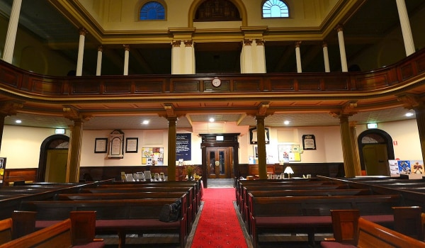 Getting to the Pitt St Uniting Church