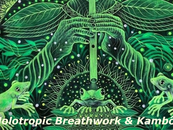 Holotropic Breathwork & Kambô in Berlin 14th-16th August 2020