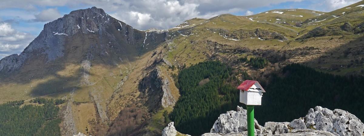 Trekking en el Monte Txindoki 3