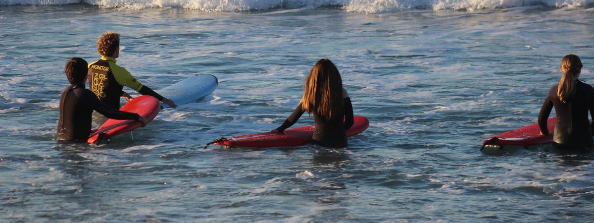 Clases de surf 1