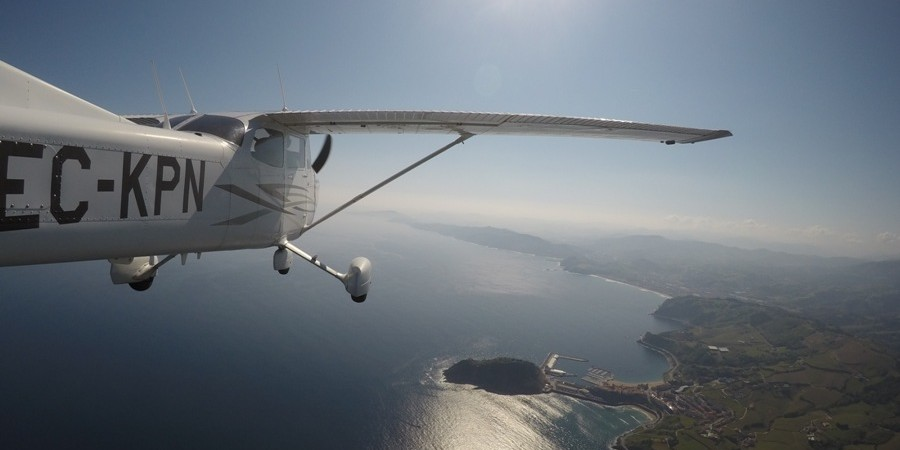 Panoramic flights by plane 1