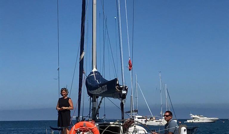 Paseo en barco de Vela 1