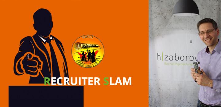 Recruiter Slam 2015: Erster Platz für unseren Henrik