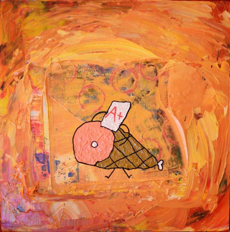 Photo de la toile 'Jambon Studieux'. (Elle est vraiment belle)
