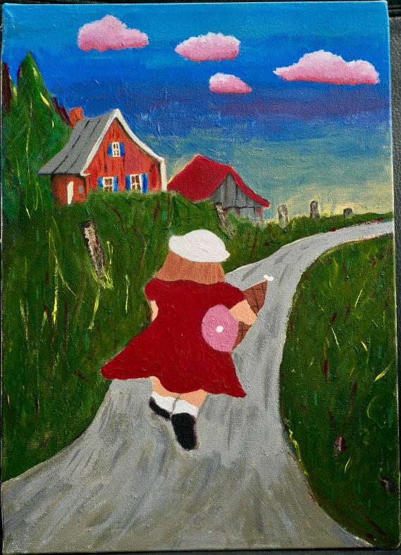 Photo de la toile 'Le Jambon à la Campagne'. (Elle est vraiment belle)