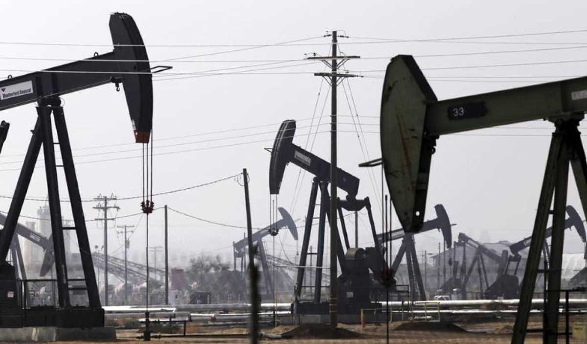 California oil field