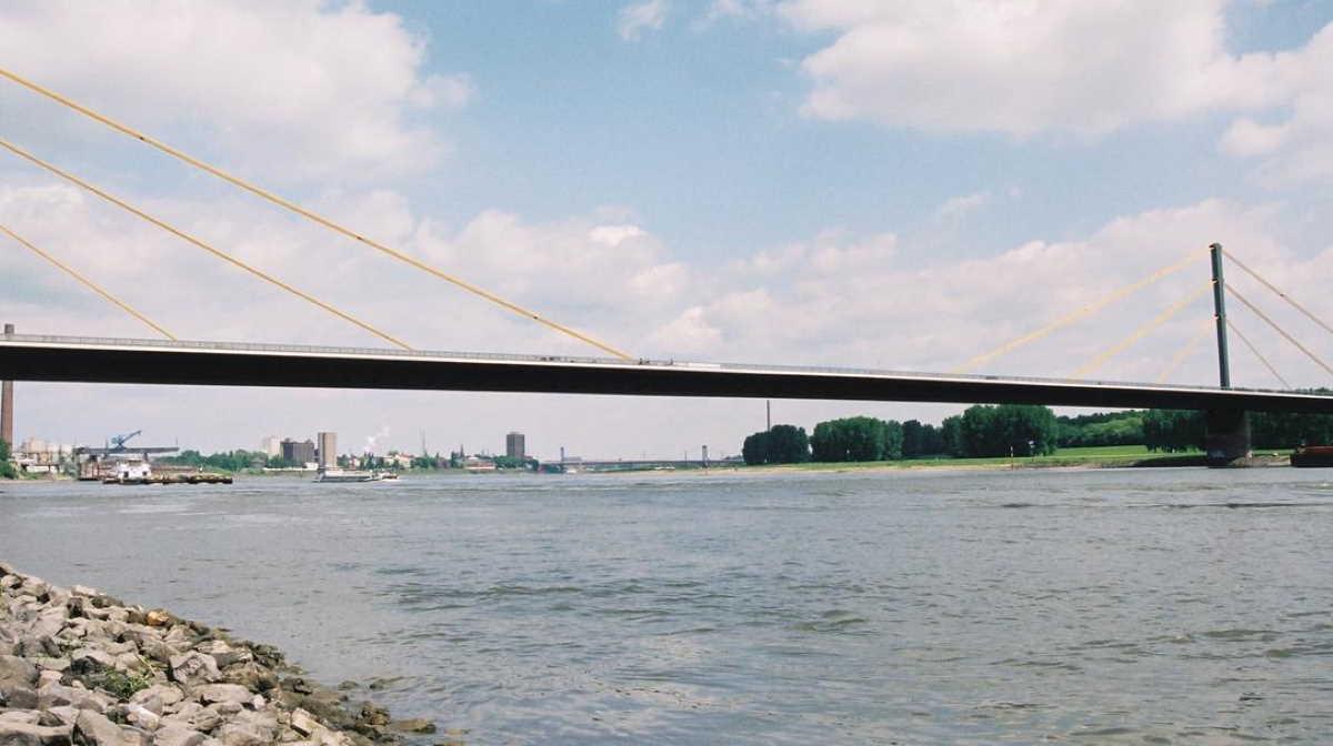 Duisburg bridge