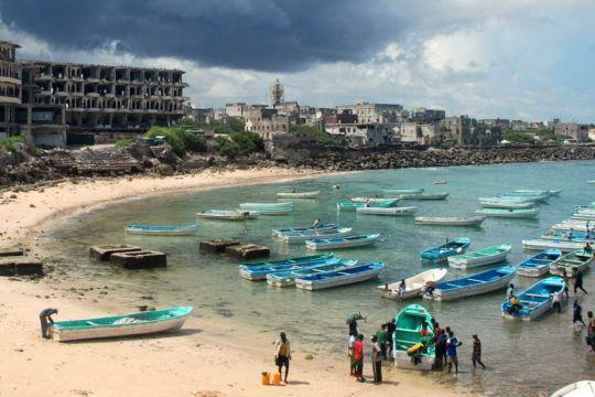Somalia coast