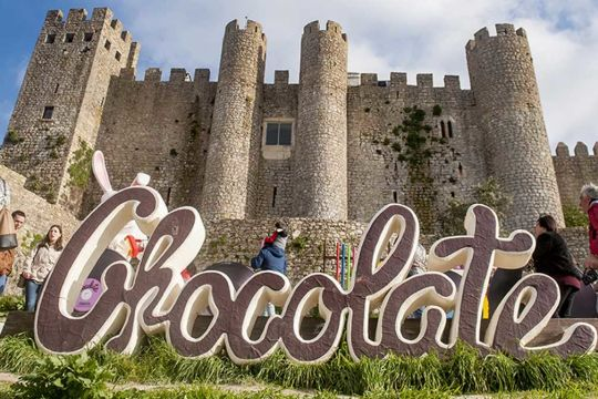 Chocolate Festival In Obidos