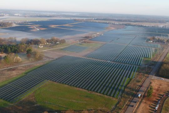 Tennessee largest solar