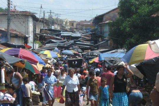 Nicaragua streets people