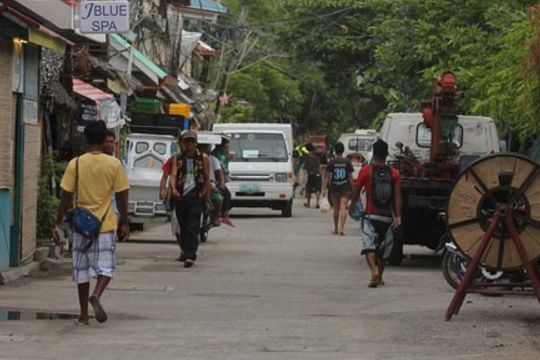 Philippine street