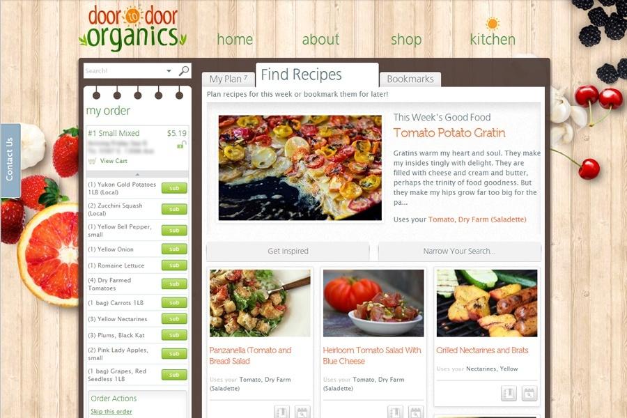 Door To Door Organics Recipes