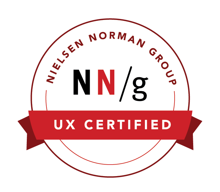 Nielsen Norman Group UX certification badge