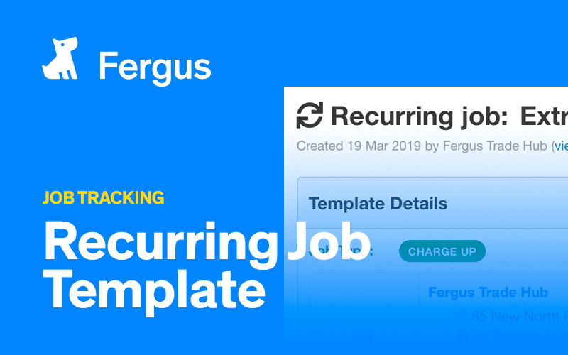 Recurring Job Template