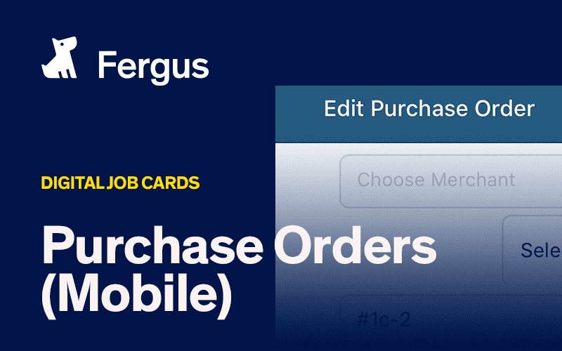 Purchase Orders (Mobile)