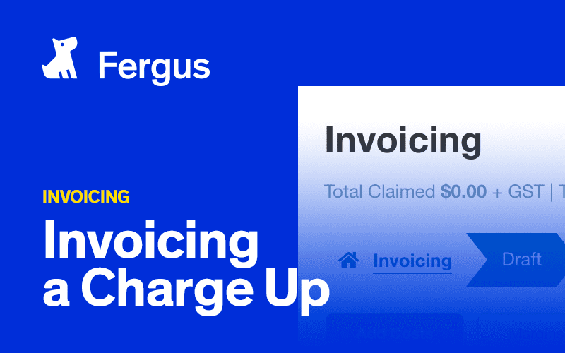 Invoicing a Charge Up