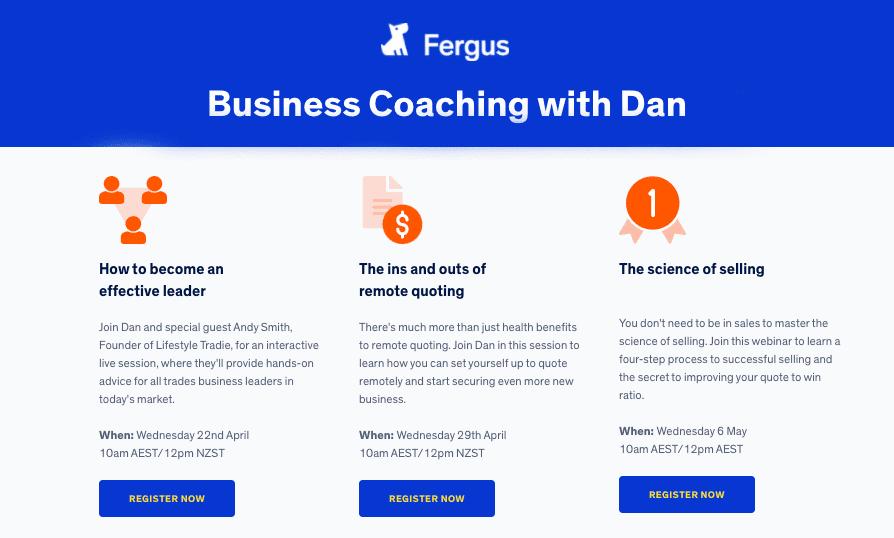 Business Coaching with Dan