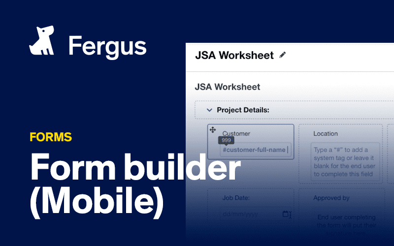 Using forms on your mobile