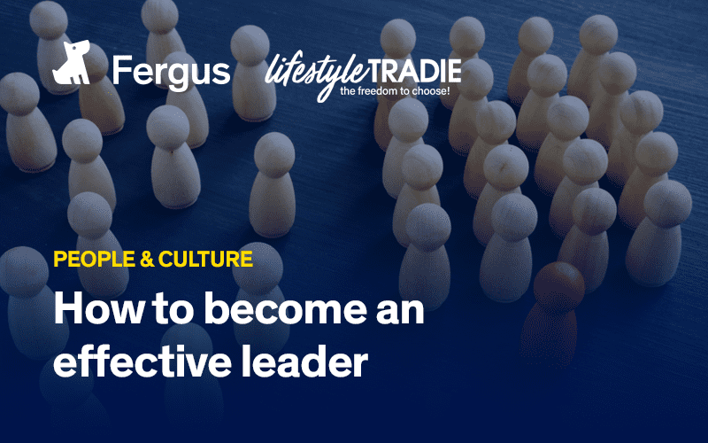 Become an effective leader