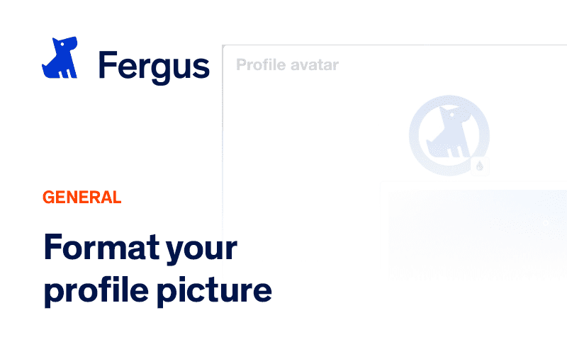 Formatting your Profile Picture