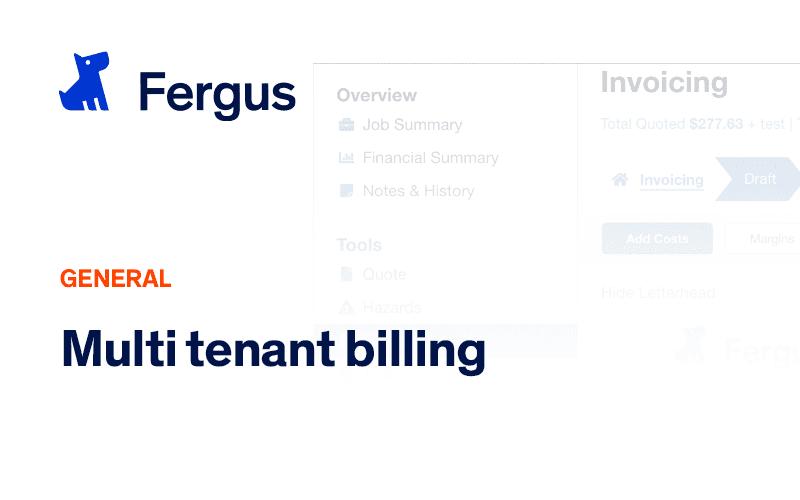 Multi Tenant Billing