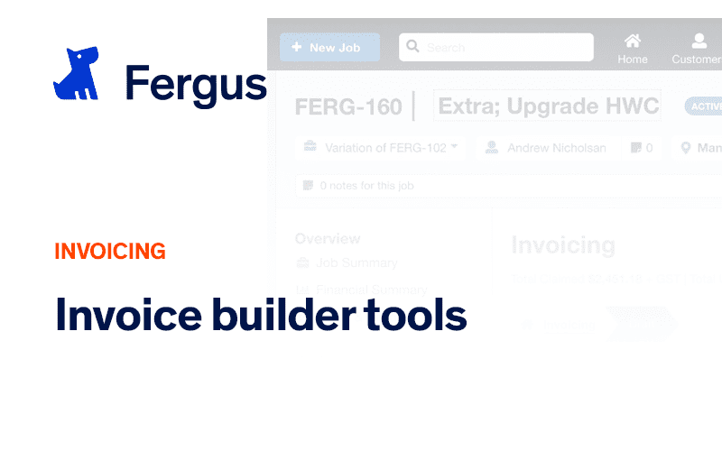 The Invoice Builder Tools