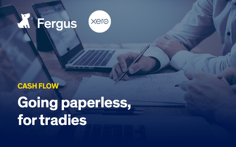 Going paperless, for tradies