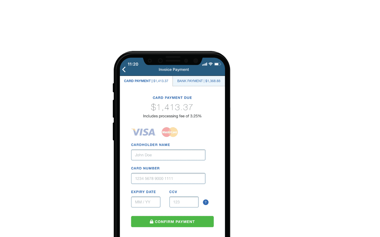 Get paid faster with Fergus Pay