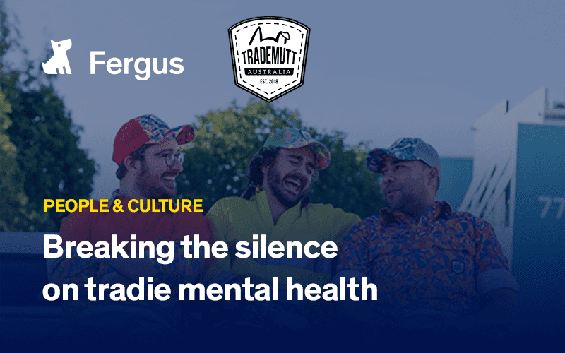 Breaking the silence on tradie mental health