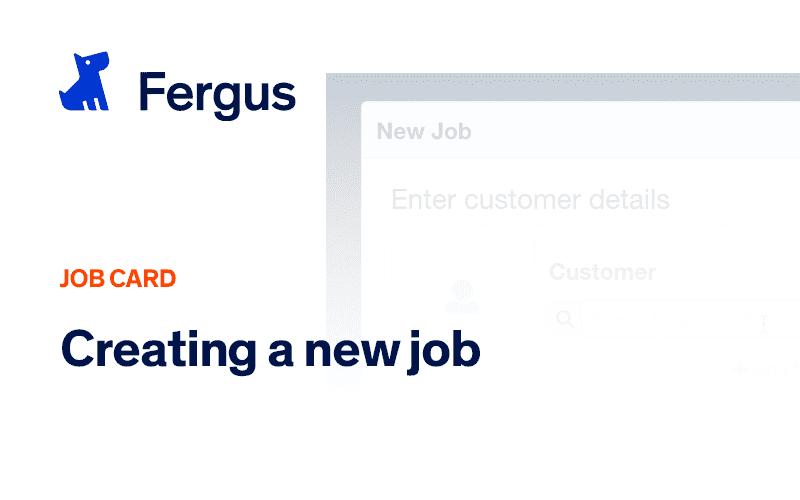 Creating a New Job